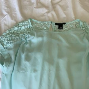 Mint green t shirt
